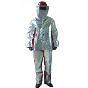 美康 MKP-19-L 炼钢炉服,分体式,最高耐辐射温度:1000℃,尺:L