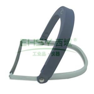 3M 铝制面屏支架,配安全帽和面屏使用,82520 ,不含安全帽和面屏