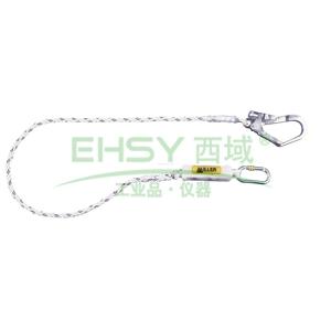 霍尼韦尔 12mm缓冲系绳,配有1个脚手架挂钩和1个安全钩,1004591