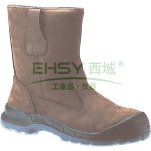 欧特 防水舒适型高帮安全靴,防砸防刺穿防静电,41,OWT805KW
