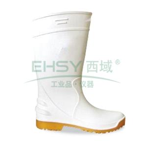 丽泰 耐酸碱耐腐蚀耐油食品靴,防水防滑,42,LT-101H