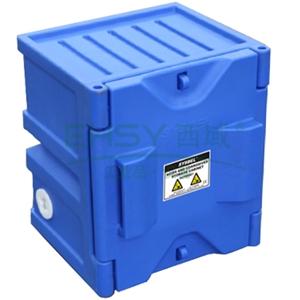 SYSBEL 强腐蚀性化学品储存柜,蓝色,4加仑,不含接地线ACP80001