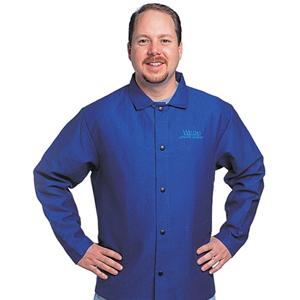 威特仕 33-6830-L 火狐狸蓝色上身焊服