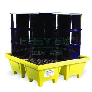 ENPAC 4桶盛漏托盘,带排水,5001-YE-D