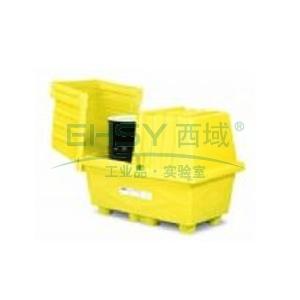 盛漏箱,ENPAC 两桶装敞盖式盛漏箱