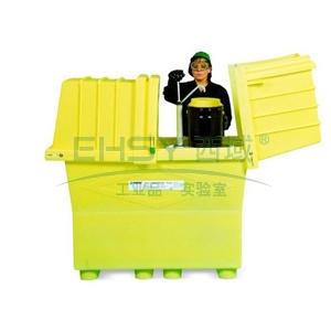 盛漏箱,ENPAC 加高型两桶装敞盖式盛漏箱