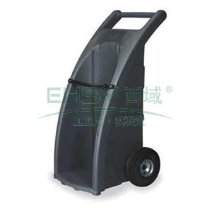 ENPAC橡胶轮全路况型单气瓶推车,7301-BK-A