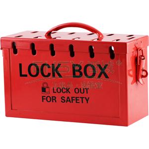 集群锁具箱,红色,BD-8812