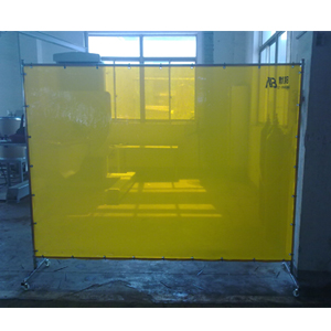 默邦 1.8m*1.96m,焊接防护屏 1.2mm厚,金黄色,不含框架