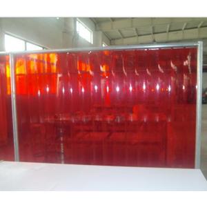 默邦 1.8m*1.96m,焊接防护屏 2mm厚,橘红色,不含框架