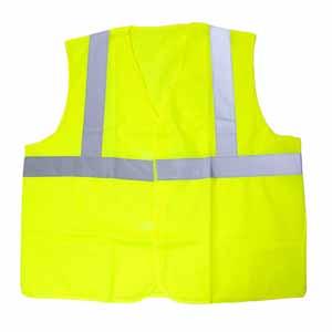 代尔塔 梭织荧光马甲 ,404402,黄色,均码