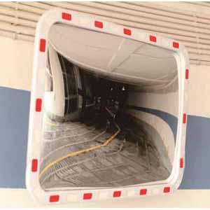 方形广角镜-进口柔性PC镜面,含安装配件,600×400mm,14318