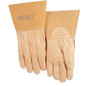 威特仕 焊接手套,10-2008-L,氩弧焊TIG手套上等猪青皮中袖筒款
