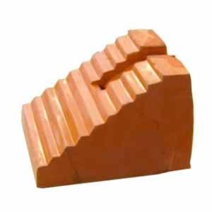 车轮挡块,24cm×16cm×17cm,5.84kg,GR0704-B,橙色