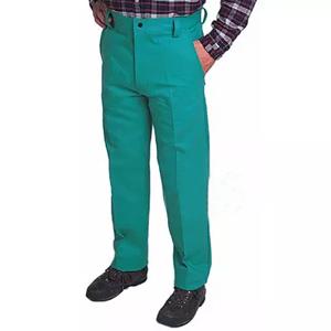 威特仕 焊接工作裤,33-9600-L,火狐狸阻燃绿色时款工作裤