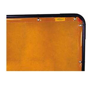 威特仕 焊接防护屏,55-5468,金黄色高透视防护屏 1.74*2.34m