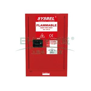 SYSBEL 可燃液体安全柜,FM认证,12G,不含接地线WA810120R