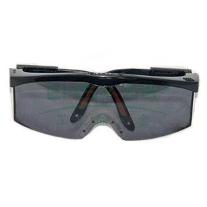 霍尼韦尔 S200A 灰色镜片 黑色镜框 耐刮擦眼镜,100211
