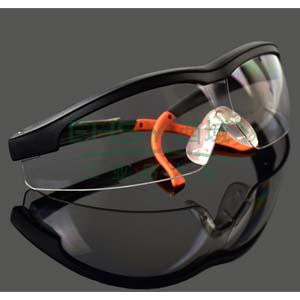 霍尼韦尔透明镜片防雾眼镜,黑色镜框,110110