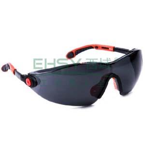 代尔塔 101120 时尚型安全眼镜,黑色太阳镜