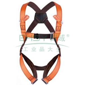 代尔塔 HAR12全身式两挂点安全带,501012