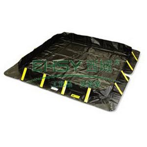 ENPAC撑扣式盛漏围堤,122*122*30cm,盛漏容积119加仑/451升 4802-BK-SU