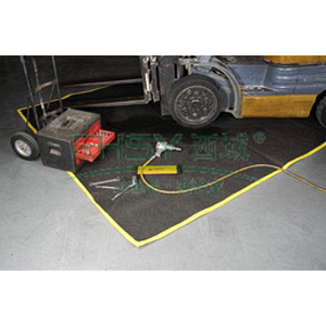 ENPAC防滴漏维修地毯,457*122*0.3cm,6加仑/23升,4720-BK