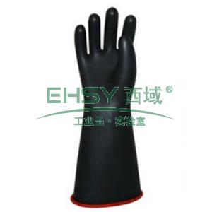 """电工手套,乳胶2级(20KV)带电作业用手套,9"""",36cm"""
