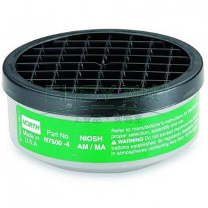 霍尼韦尔N75004 氨气,甲胺滤盒,2个/对
