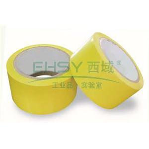 乐同 警示胶带,黄色,60mm*20m