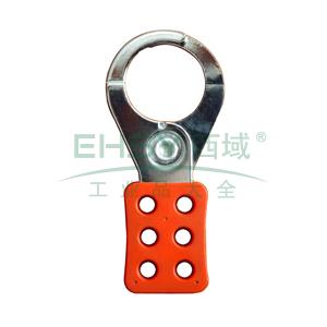 六联锁具,上锁孔径9.5mm,锁钩直径1.5英寸,20把/盒,H12