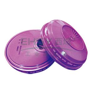 百安达 1206 过滤棉,加防水盒盖,KP100,2片/袋,