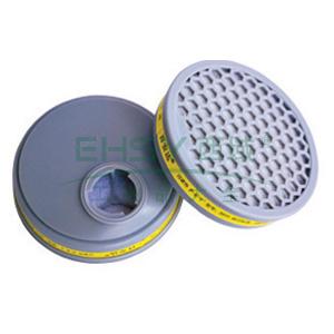 百安达滤盒,防酸性气体过滤件,2个/袋,3311