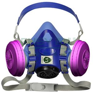 百安达 FB1206 KP100呼吸器套装,PEA01面罩+1206过滤元件