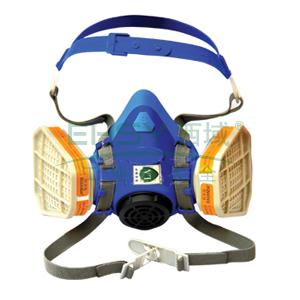 百安达 FB3115防有机气体防毒面具套装,PEA01面罩+3115过滤件,