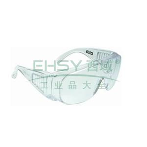 MSA宾特防护眼镜,宾特-CAF,防雾透明镜片,9913263,12副/盒