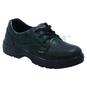 希玛 电工低帮牛皮安全鞋,防砸防滑电绝缘,44,56021(同系列30双起订)