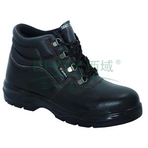 希玛 电工牛皮安全鞋,防砸防滑电绝缘,35,58065(同系列30双起订)