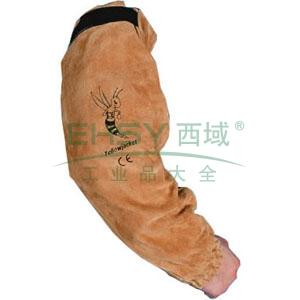 威特仕 44-2321 牛二层芯皮手袖, 53cm长
