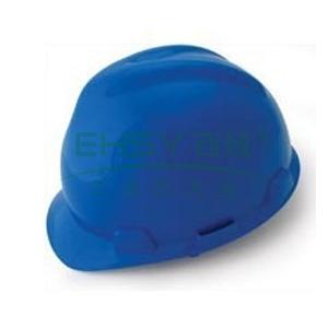 羿科AV60 ABS V型安全帽,蓝色