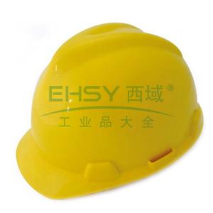 羿科AV60 ABS V型安全帽,黄色