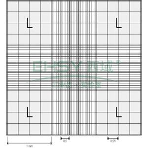 BRAND血细胞计数板,Fuchs-Rosen型,含弹簧夹