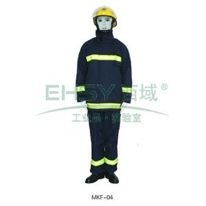 2002式消防员灭火防护服,只能用于日常训练使用,尺码:XL