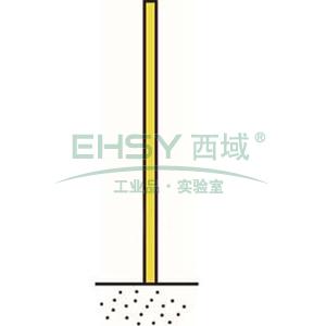 金属立柱,法兰式,高2400mm,直径76mm