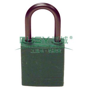 绝缘安全挂锁,铝合金锁钩,绿色