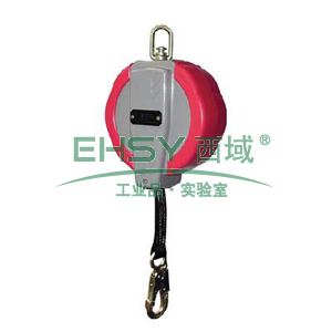 MSA Aptura速差自控器,6米尼龙织带,19mm开口挂钩,10056965
