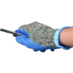 海太尔 0081 迷彩乳胶防割手套,乳胶涂层,5级防割