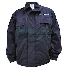 雷克兰 12.4cal系列防电弧夹克,Nomex线缝纫,下摆松紧式收腰,深蓝,尺码:XXXL