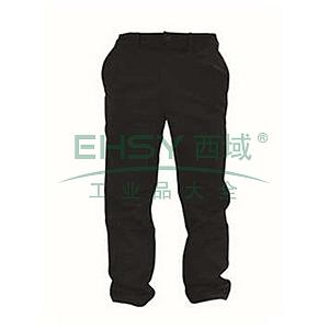 雷克兰 12.4cal系列防电弧裤子,两侧有2个斜插口袋,臀部2个垂直口袋,深蓝,尺码:M