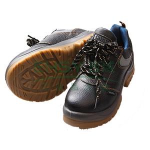 赛纳,透气低帮牛皮安全鞋,防砸防穿刺防静电,46,GL-0551-S1P